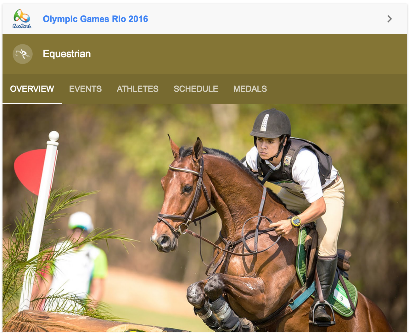 Watch The Rio 2016 Olympics Equestrian Tv Schedule