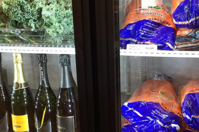 carrots and champagne